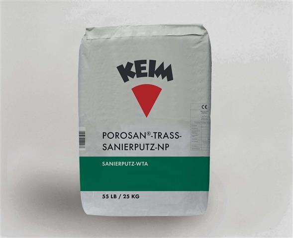 KEIM Porosan®-Trass-Sanierputz-NP
