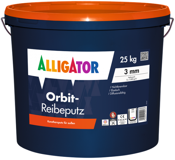 Alligator Orbit-Reibeputz 2 mm
