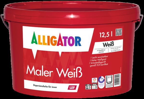 Alligator Maler Weiß LEF Weiß