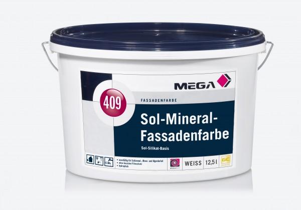 MEGA 409 Sol-Mineral-Fassadenfarbe