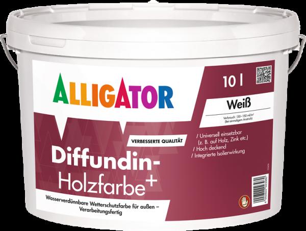 Alligator Diffundin-Holzfarbe+ Tiefschwarz