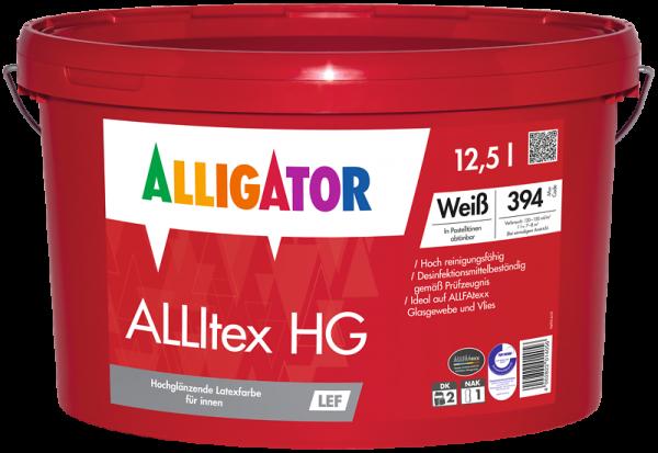 Alligator ALLItex HG LEF Weiß