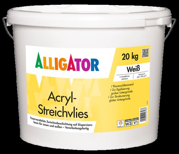 Alligator Acryl-Streichvlies